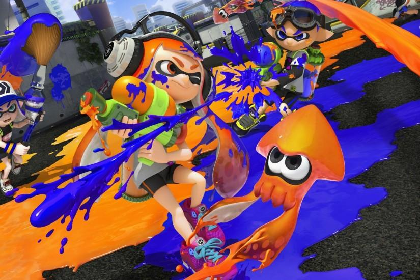 best splatoon wallpaper 1920x1080