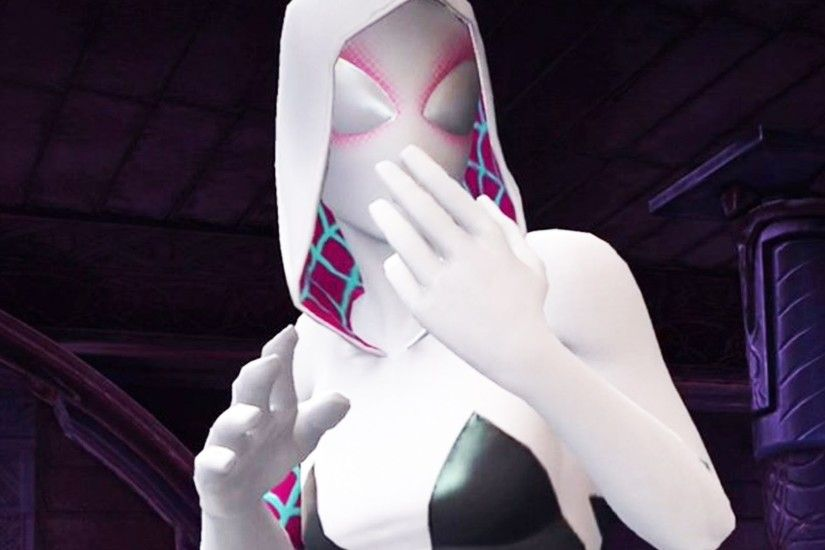Marvel: Contest of Champions - SPIDER-GWEN Super Moves & Attacks Hands-on  Review - YouTube
