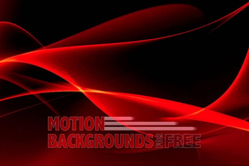 "Free Light and Energy Motion Background ""Abstract Red"""