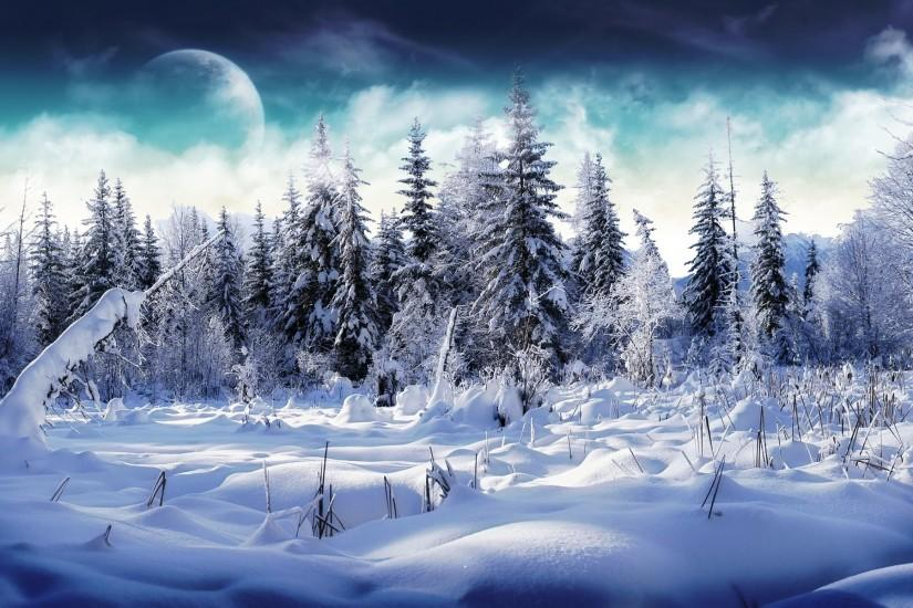 winter backgrounds 1920x1200 for hd