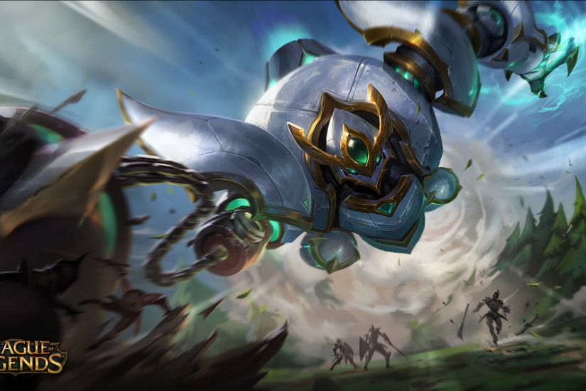 Lancer Paragon Blitzcrank Splash Art HD Wallpaper Background Official Art  Artwork League of Legends lol