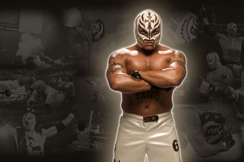 Rey Mysterio - WWE Wallpaper by 0PT1C5