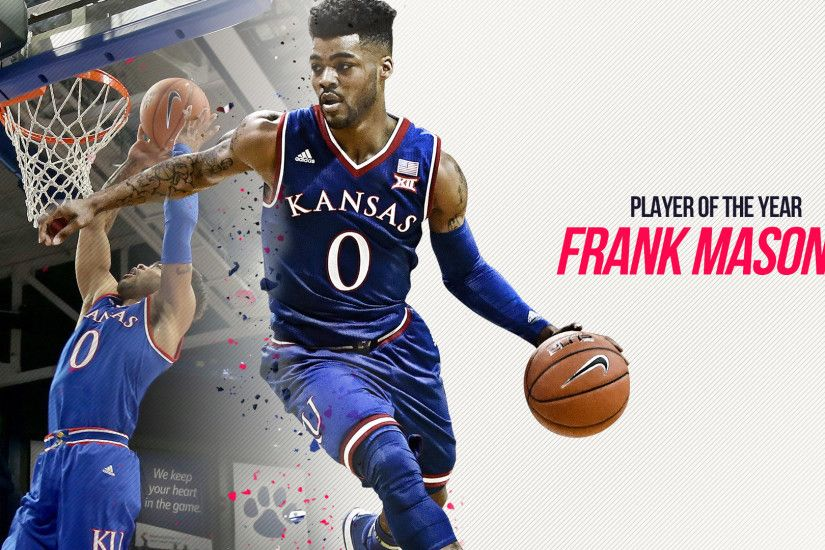 1920x1080 Kansas' Frank Mason III is Sporting News college basketball  Player of the Year |