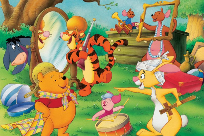 Winnie The Pooh Party Desktop Background. Download 1920x1200 ...