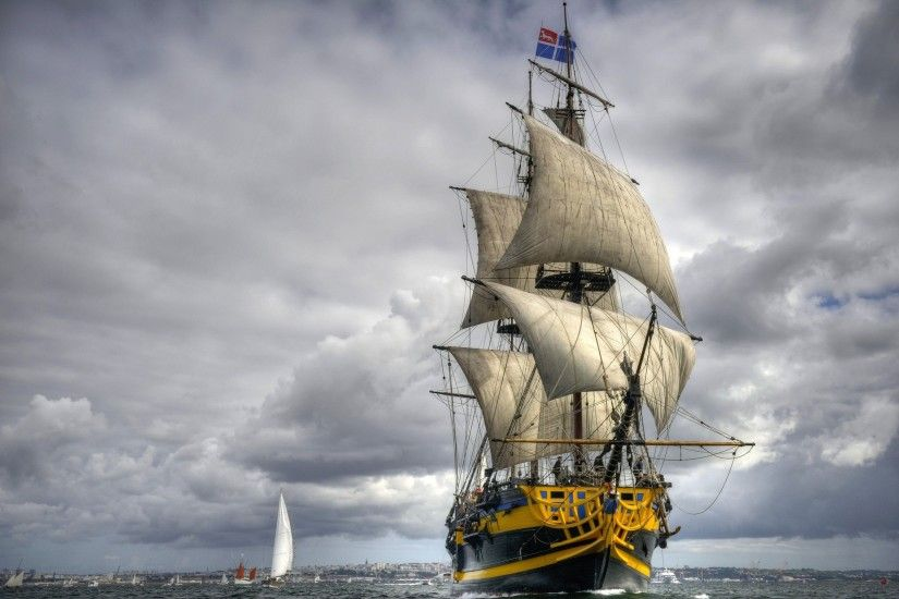 Tall Ship Wallpapers - Wallpaper Cave