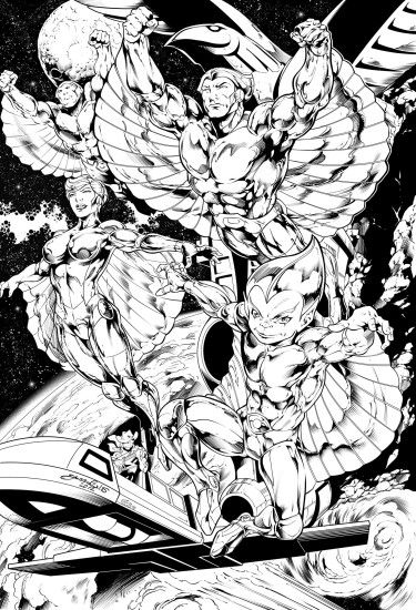 ... Silverhawks Ink by Inker-guy