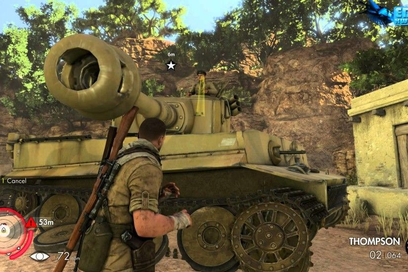 Sniper Elite 3 Afrika 2014 How to Destroy The Tiger Tank