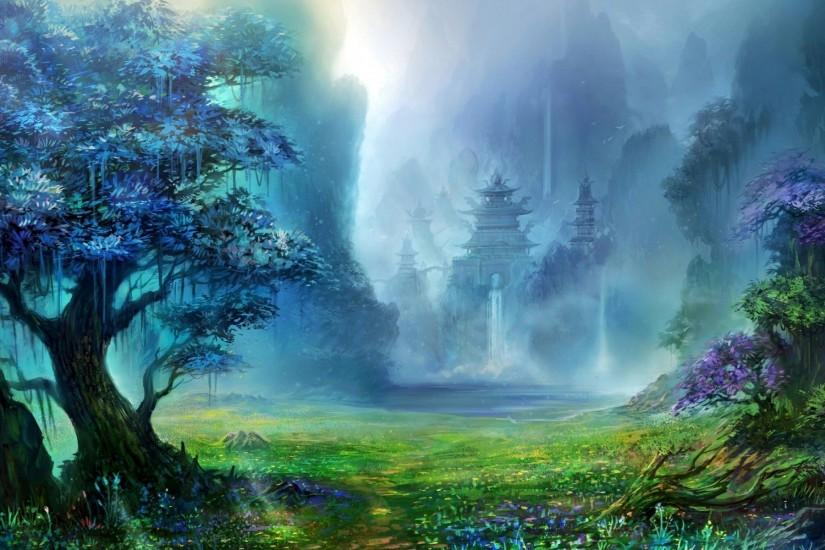 Fantasy Forest Wallpaper High Quality Resolution Free Download Wallpapers  Background 1920x1200 px 565.72 KB 3d &