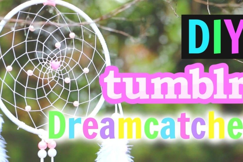 DIY Tumblr Dreamcatcher Tutorial! How To Make A Dreamcatcher! - YouTube