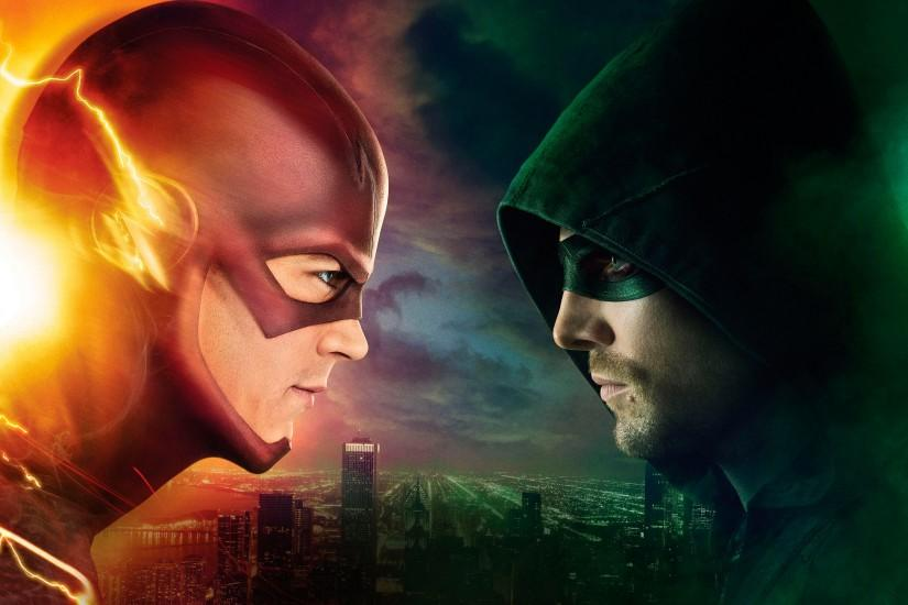 Flash Wallpaper Hd Flash vs arrow