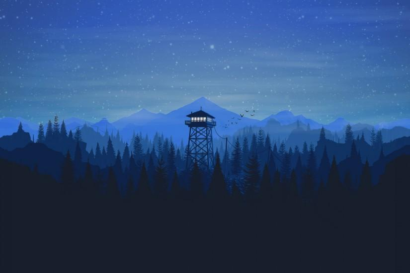 large firewatch wallpaper 2560x1600