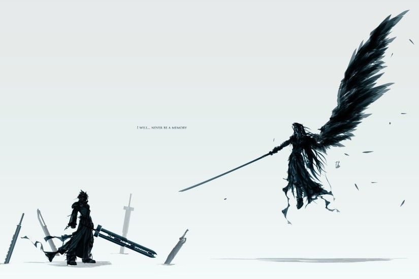 wallpaper Final Fantasy · Sephiroth · Cloud Strife