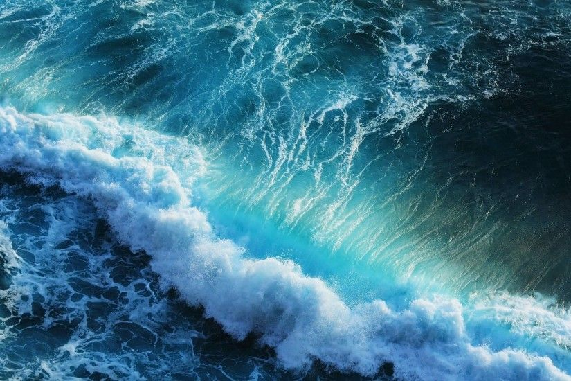 Wallpapers For > Dark Ocean Waves Wallpaper
