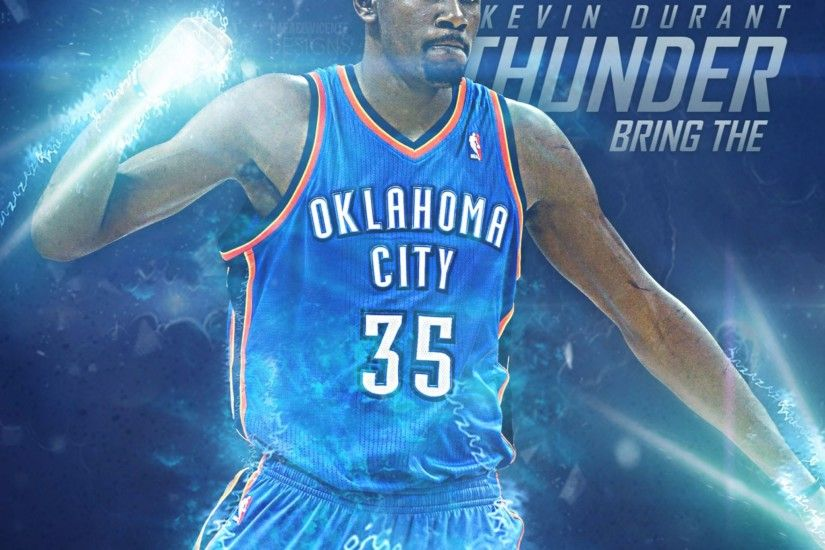 Related to Bring the Thunder Kevin Durant 4K Wallpaper