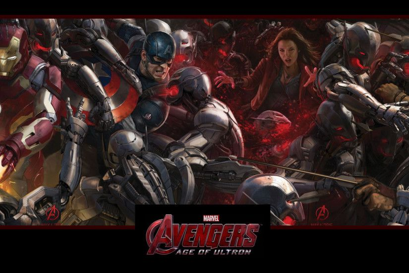 Avengers 2 Age of Ultron Fight Wallpaper HD