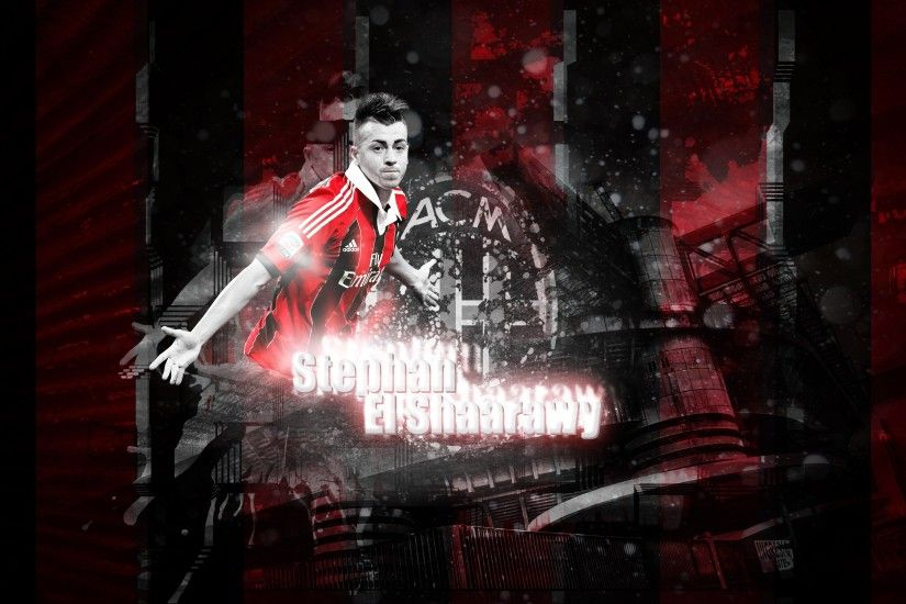 stephan el shaarawy ac milan background hd wallpapers high definition  amazing desktop wallpapers for windows apple mac tablet download 2880×1800  Wallpaper ...