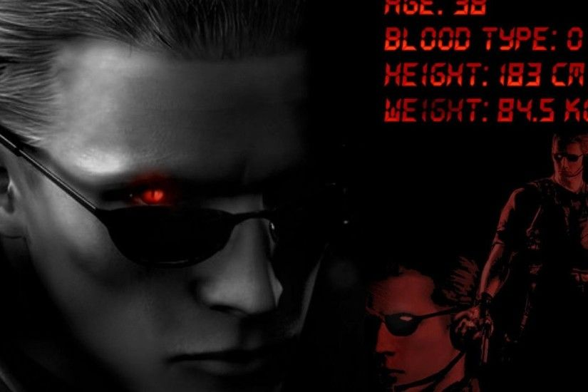 wesker resident evel umbrella corporation video games HD Wallpaper .