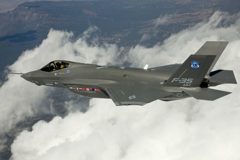 F 35 Lightning II Joint Strike Fighter wallpapers Wallpapers) – Wallpapers  For Desktop