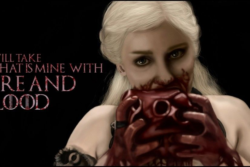 Daenerys Targaryen Wallpaper, Daenerys Targaryen (Emilia Clarke) Fire And  Blood.