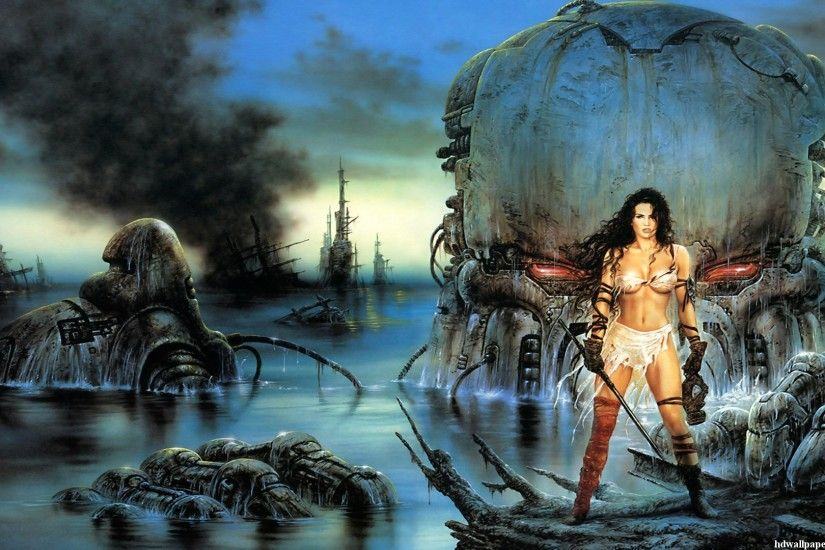 Luis Royo Wallpaper Gallery 19