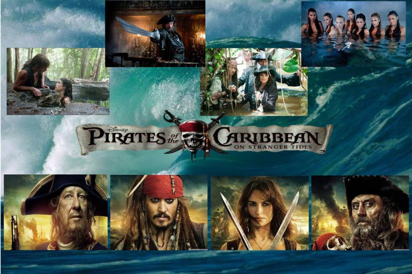 ... Pirates Of The Caribbean 4 Wallpaper by lilmeglett