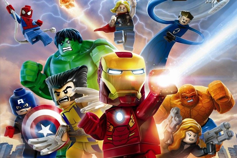 lego marvel super heroes wallpapers desktop wallpaper - Laut Digital