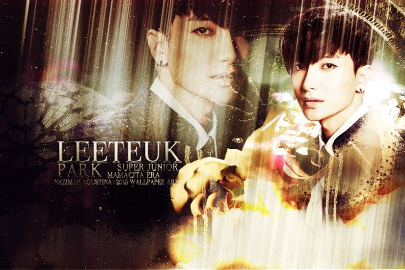 1920x1080 ... park leeteuk mamacita era super junior happy birhday 2015  wallpaper by nazimah