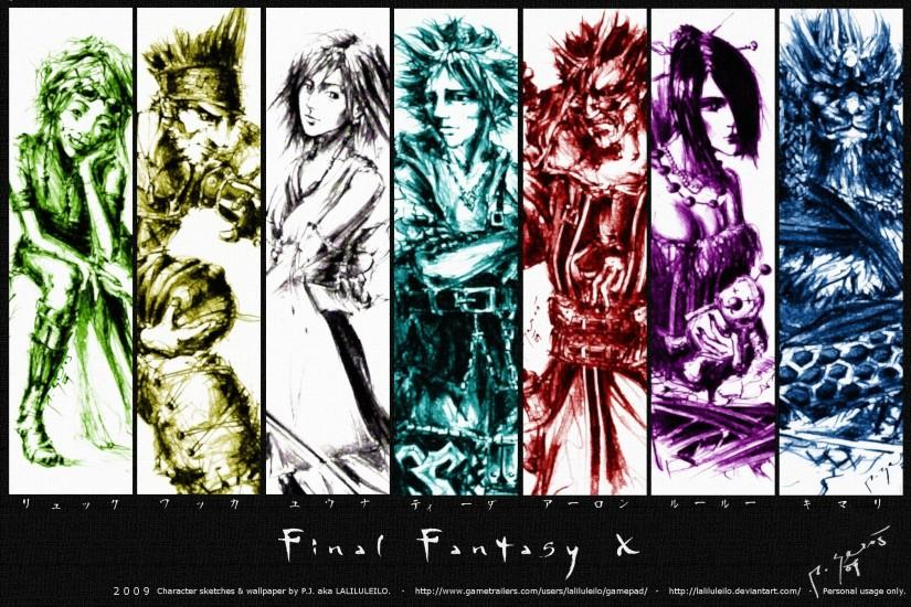 Wallpapers For > Final Fantasy X Wallpapers