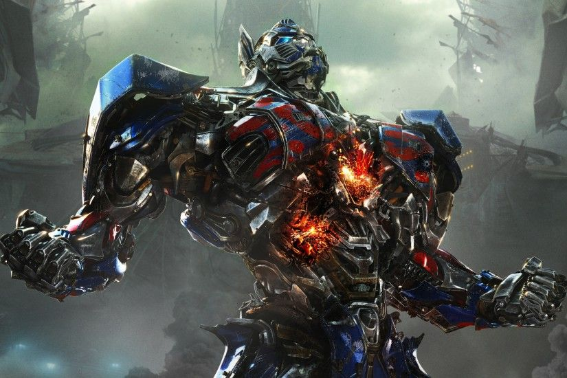 Preview wallpaper transformers age of extinction, autobot, optimus prime  3840x2160
