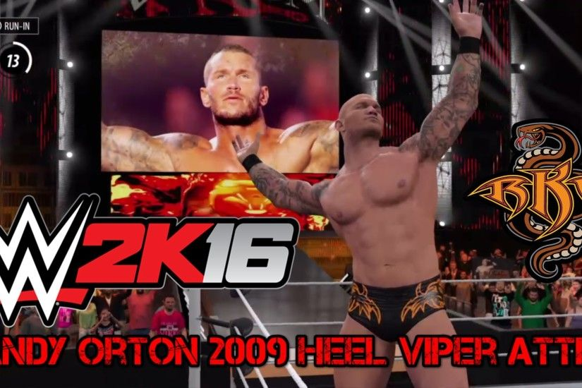 WWE 2K16 - Randy Orton 2009 Heel Viper Attire - Created By MrBigShowOff -  (PS4) Gameplay - YouTube