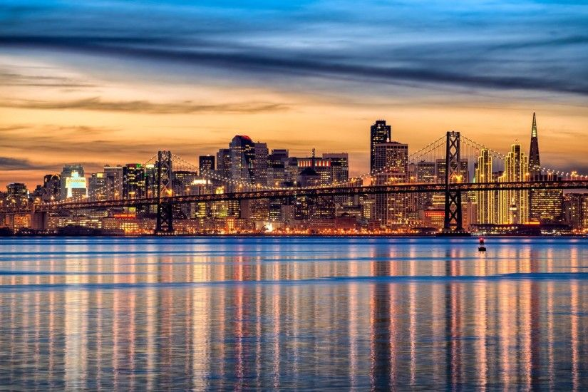 This is how San Francisco cityscape looks in pictures of the talented  photographer - Clint Sharp · By his courtesy, this wallpaper with the San  Francisco ...