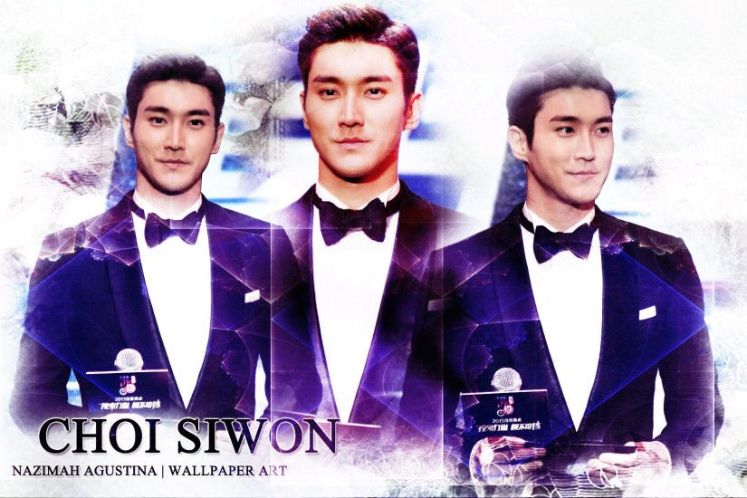 CHOI SIWON super junior center of group visual by nazimah agustina