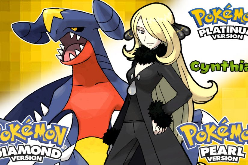 ... Pokemon Diamond,Pearl, Platinum- Cynthia Wallpaper by MattPlaysVG