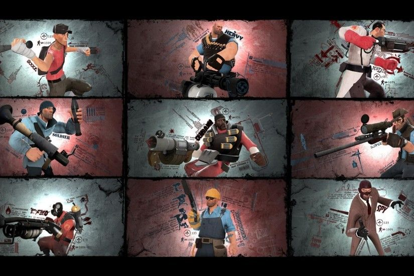 Download Heavy TF2 Wallpaper 1920x1080 | Wallpoper #246937