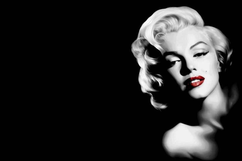 Blonde Celebrity Marilyn Monroe Quote · HD Wallpaper | Background ID:208579