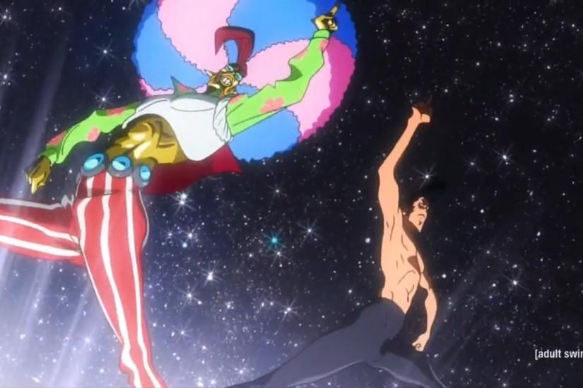 This was basically that episode from Cowboy Bebop where Spike meets his  double, except that Dandy's double was a space alien named Ton Jravolta.