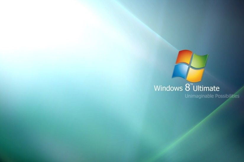 Preview wallpaper windows 8, ultimate, blue, green 1920x1080
