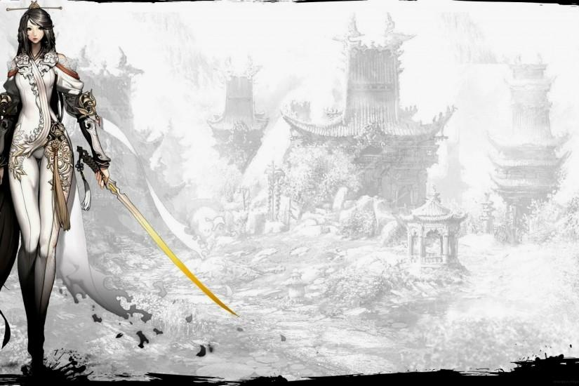 blade and soul wallpaper 2560x1440 htc