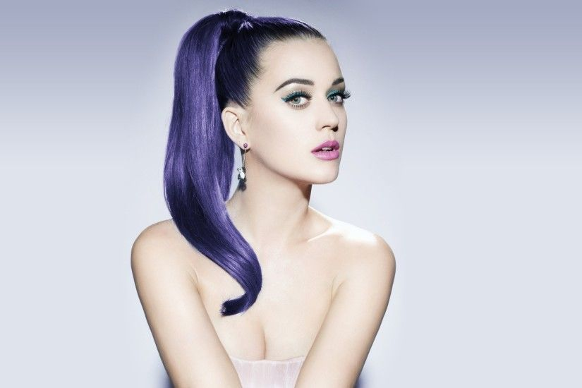 Katy Perry Hair Color HD Wallpaper