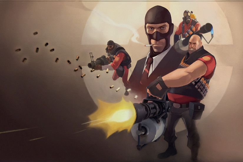 Video Game - Team Fortress 2 Spy (Team Fortress) Pyro (Team Fortress)