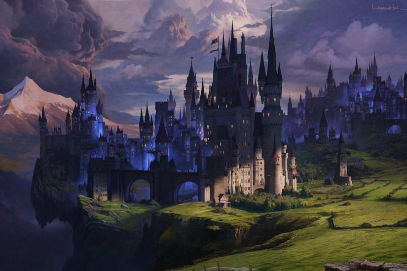 Fantasy Castle Wallpaper Iphone