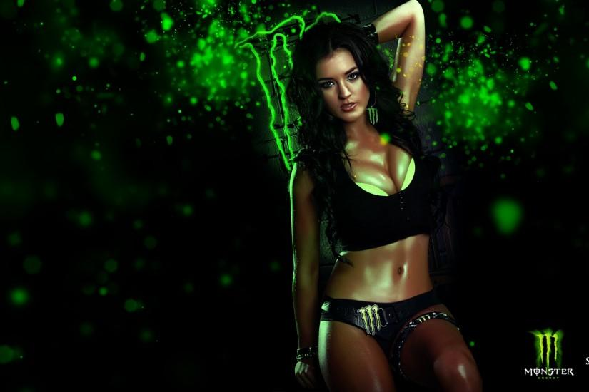Wallpapers Monster Energy Origin Girls 1920×1080 Monster Energy