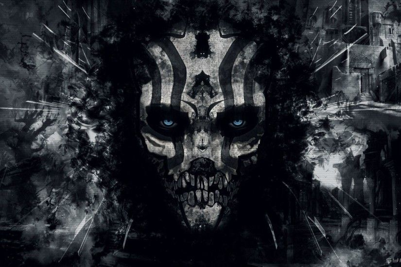 Darksiders Dark Skull Skulls Evil Hd Wallpapers 1920x1080PX ~ Evil .