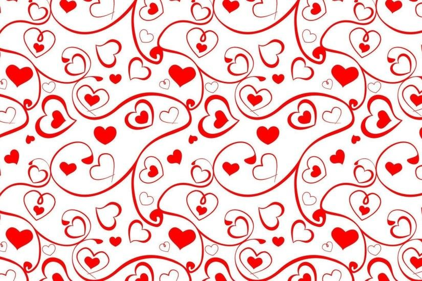Heart and swirl pattern wallpaper - Holiday wallpapers - #