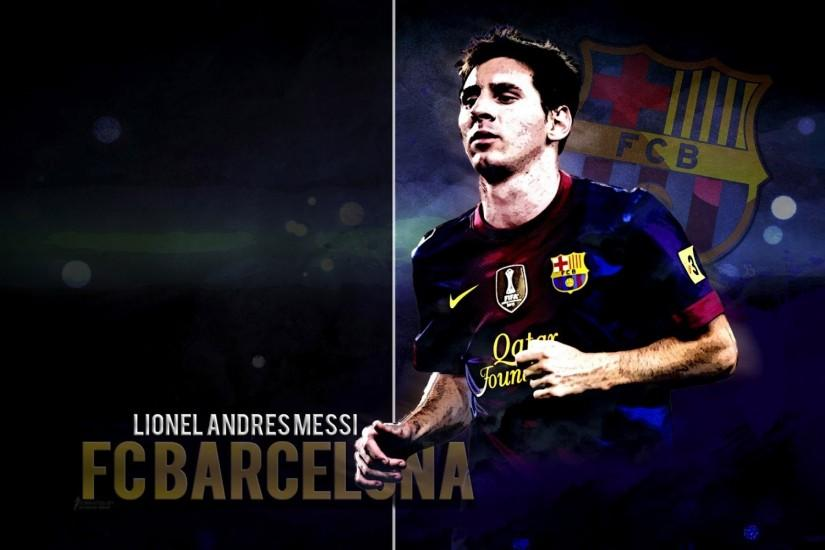 ... Lionel Messi HD Wallpaper FC Barcelona 2015
