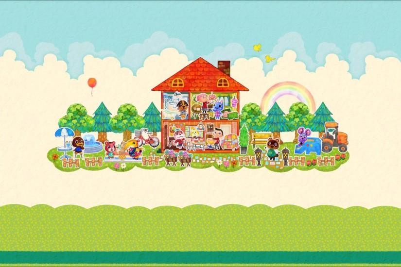 animal crossing wallpaper 1920x1080 screen