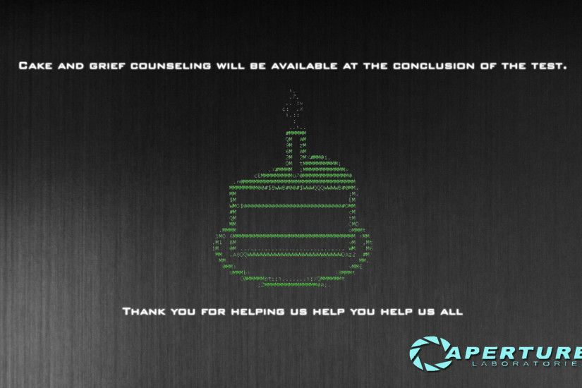 Aperture Science Wallpaper 2 by RobCoxxy Aperture Science Wallpaper 2 by  RobCoxxy