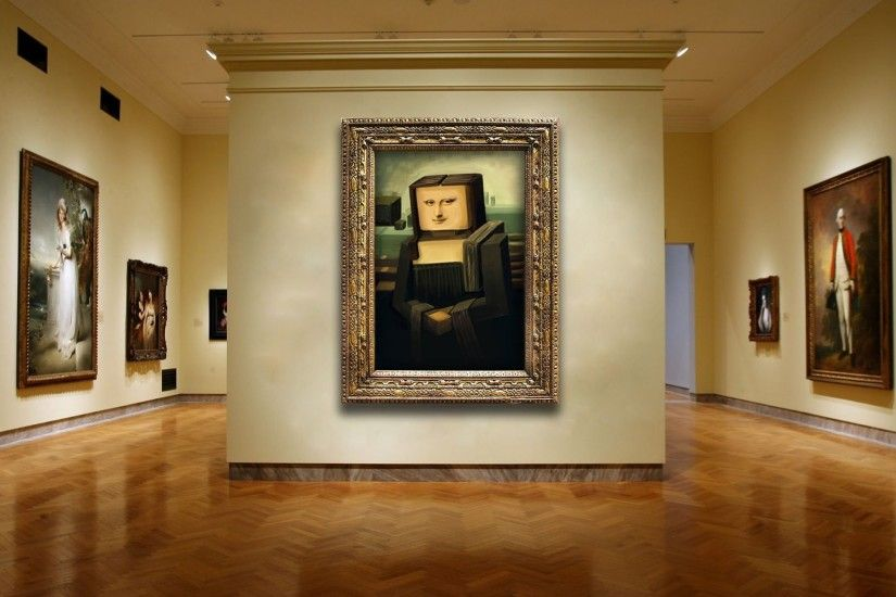 Mona Lisa In Cubism