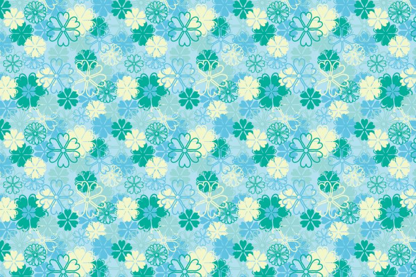 blue floral background patterns