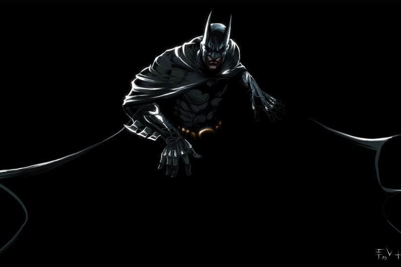 Batman DC Comics black background - Wallpaper (#844830) / Wallbase.cc